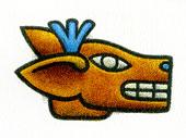 Aztec Daysign no. 7: Deer