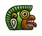 Aztec Daysign no. 11: Monkey