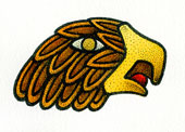 Aztec Daysign no. 15: Eagle