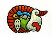 Aztec Daysign no. 16: Vulture