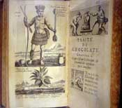 Pic 18: Section on chocolate in 'Traitez nouveaux & curieux du café, du thé et du chocolate' by Philippe Sylvestre Dufour, The Hague, 1693 - a classic early European work on the history of chocolate and its rich properties
