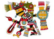 Pic 8: Tezcatlipoca, 'Lord of the Smoking Mirror'