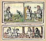 Pic 11: Good physician (top), bad physician (bottom); Florentine Codex Book X