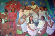 "Pic 9: 'A gender utopia of ""complementary"" equality'? Detail of mural by Antonio González Orozco, Hospital de Jesús Nazareno, Mexico City"