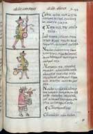 Fig 6: Xipe Totec y su canto. Códice Florentino