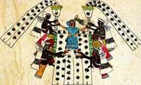 Pic 7: Chicomecoatl priestess. Codex Borbonicus, fol. 31 (detail)