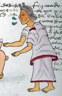 Fig 9: 'Yo soy la fuerza de la abuela'. Códice Mendoza