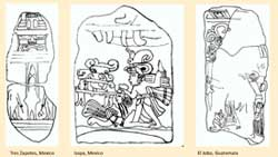 Pic 7: Depictions of decapitation found in three stelae