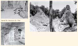 Pic 8: Excavations at Burial 78 site, Tikal, Guatemala