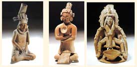 Pic 15: Examples of Maya body piercing practices
