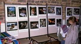 Pic 16: The original exhibition, Camden Festival, 1985