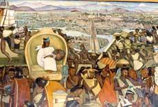 Pic 2: Diego Rivera's mural version