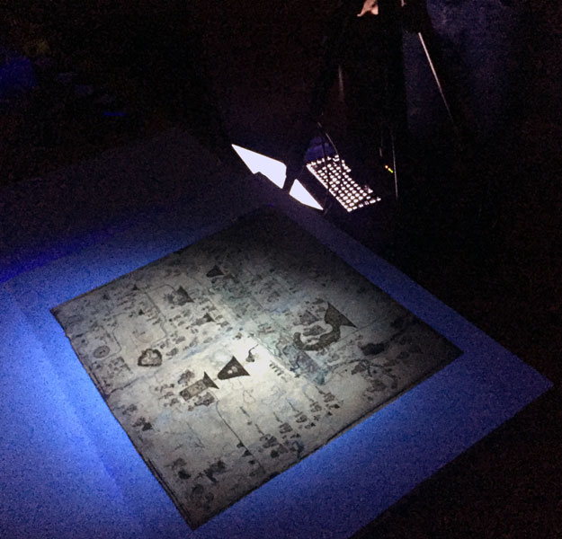 Hi Tech Imaging Of Two Aztec Codices In Paris
