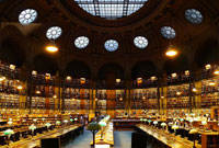 Pic 9: The oval room of the Bibliothèque National de France, Paris (Richelieu building)