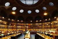 Pic 9: The oval room of the Bibliothèque National de France, Paris (Richelieu building)