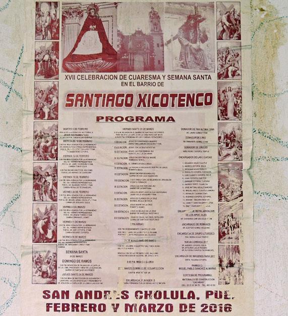 Nahuatl surnames from Cholula