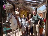 Pic 3: Team of the Ulama Project in Sinaloa during the 2006 season (María Ramos, Javier Cordon, Dianna Santillano, Luis Ramirez and Dr. Manuel Aguilar-Moreno)