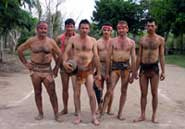 Pic 6: Team of Los Llanitos dressed with their 'fajados'