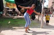 Pic 19: Martina Velarde, great female player of Los Zapotes