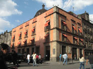 Pic 12: The home of the first printing press/print shop in the New World, at the corner of Moneda and Licenciado Primo Verdad streets in Mexico City