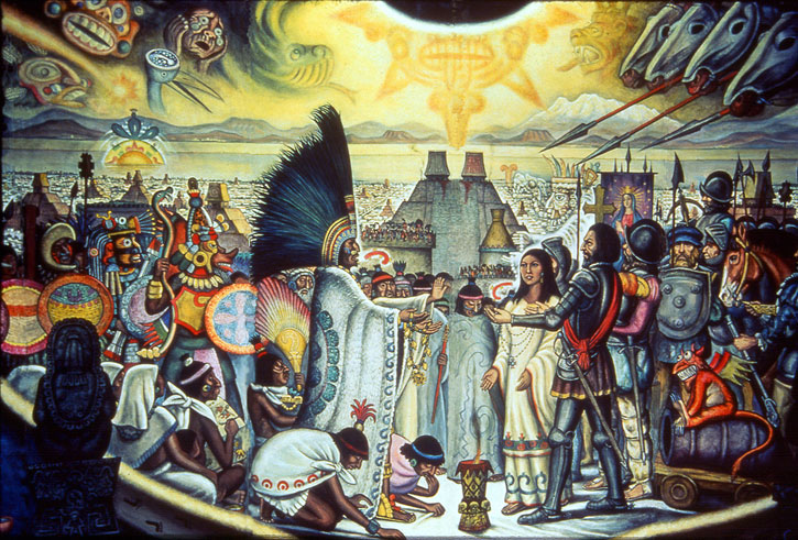 the spanish encomienda system was similar to feudalism except that