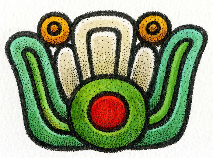 Aztec Flower Power