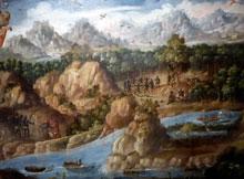 Pic 5: Detail from 'La Conquista de Guatemala', oil painting, anon., Museo de América, Madrid