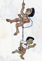 Pic 7: Smallpox, Codex Telleriano-Remensis fol. 45v (detail)