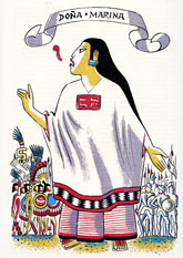 Pic 3: Illustration of Doña Marina by Miguel Covarrubias