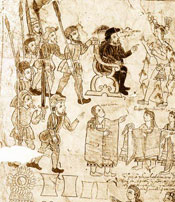 Pic 7 Further evidence, this time from the Tizatlan Codex, of Doña Marina's pivotal role in influencing events during the Spanish invasion