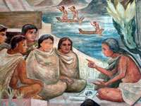 Learning from an Aztec teacher
