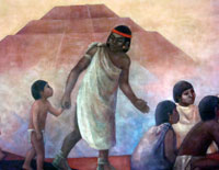 Aztec teaching in action