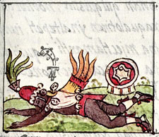 Pic 2: Quetzalcoatl, Florentine Codex Book 3, chapter 14
