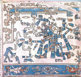 Pic 5: Tlaloc, Codex Laud, Bodleian Library, Oxford