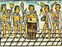 Pic 8: Dancers-musicians, Florentine Codex Book IX