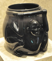 Pic 4: Little is known of the meaning or function of these vessels as the iconography is so simple