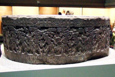 Pic 13: The original Tizoc Stone, National Museum of Anthropology, Mexico City