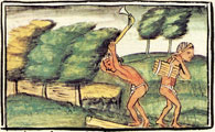 Pic 4: Wood gathering, Florentine Codex Book XI