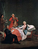 Pic 12: Painting 'La cioccolata del mattino' (The Morning chocolate), Pietro Longhi, 1775-1780