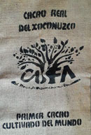 Pic 15: Bag used to transport cacao beans for CASFA