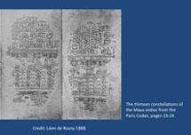 Pic 8: 13 constellations of the Maya zodiac, Paris Codex