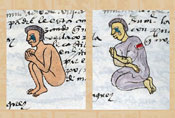 Pic 11: Children crying, Codex Mendoza, fol. 59r (detail)