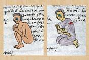 Pic 11: Children crying, Codex Mendoza, fol. 59r (detail)