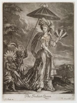 Pic 3: 'The Indian Queen' (Anne Bracegirdle) by William Vincent, published by John Smith mezzotint, circa 1685-1695 NPG D19498