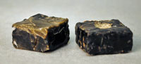 Pic 6: Block of Mesoamerican obsidian. British Museum, cat. no. Am.9114-9115