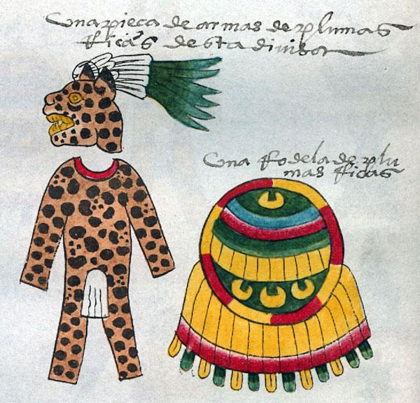 Aztec Jaguar Warriors Did Not Wear Real Jaguar Skins