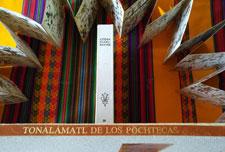 Pic 2: The Codex Fejérváry-Mayer has been renamed the 'Tonalamatl de los Pochtecas' or 'Merchants' Almanac'