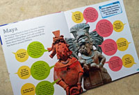 Pic 3: the Maya speak for themselves... DKfindout! Maya, Incas and Aztecs