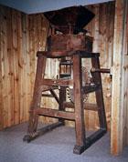 Pic 10: Handmill from Long Crichel, Dorset in Salisbury Museum