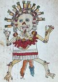 Pic 5: A 'tzitzimitl', Codex Magliabechiano, fol. 76